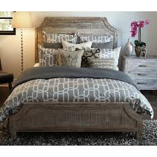 bedroom sheet sets distressed wood furniture cheap aria wood panel bed by classic home bedroom pinterest wood