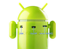 android mp3 android robot styled mp3 player gadgetsin