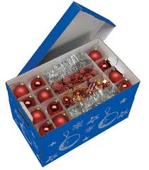 Christmas Decorations Storage Uk by Nips Christmas Storage Box For Baubles Decorations With Variable
