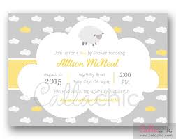 sheep baby shower sheep baby shower invitation printable boy girl 1st