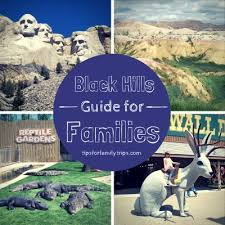 a black itinerary for families road trips south dakota and