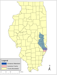 Illinois River Map Natural Resources Damage Assessment