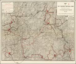 Map Of Yosemite Yosemite Army Supply Lines Map Of The Yosemite National Park