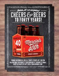 birthday cheers any age cheers and beers invitation beer 21st 30th 40th 50th