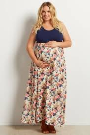 Light Pink Dress Plus Size Light Pink Chiffon Colorblock Plus Maternity Maxi Dress Maxi