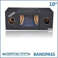 nissan frontier subwoofer box black 10