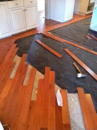 Laminate Flooring Border Match Old And New Floor Hoffmann Hardwood Floors