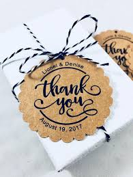 wedding tags for favors thank you tags wedding favors bridal shower thank you wedding