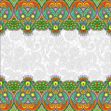 ethnic ornament pattern seamless border vector 07 https gooloc