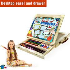 Desk Easel For Drawing Uscoco Table Easel Drawer Art Folding Artist Table Desk Easel