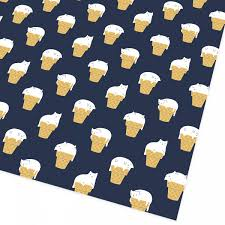 cat wrapping paper cat cones giftwrap ohh deer