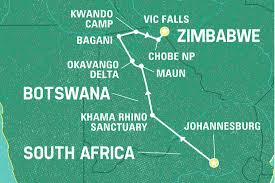 Victoria Falls Map Top 10 Zimbabwe Tours U0026 Trips 2017 18 Geckos Adventures Au