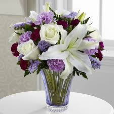 thinking of you flowers the thinking of you bouquet by ftd cut glass vase included