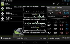tracking sleep with your phone exist