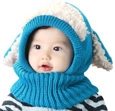 baby boys winter hat scarf earflap scarves