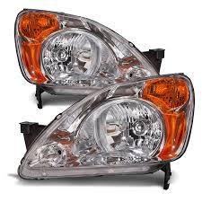 honda cr 600 amazon com honda crv headlights headlamps set new pair automotive