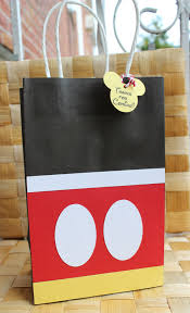 mickey mouse favor bags mickey mouse favor bag goodie bag candy set of 12