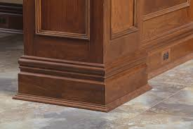 Modern Baseboard Styles by Custom Cherry 7 1 2