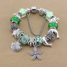 bracelets for newest design tortoise charms bracelets bangles green murano glass
