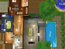big houses floor plans mod the sims luxury in the lush the utimate modern house in the