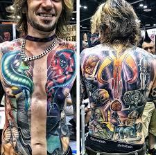 amazing full torso star wars tattoo pic global geek news