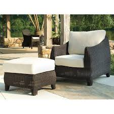 Patio Furniture Fabric Outdoor Bay Harbor Wicker Lounge Chair Fabric Cushion Dcg Stores
