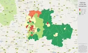 Nottingham England Map by Nottingham Criminal Damage And Arson Crime Statistics In Maps And