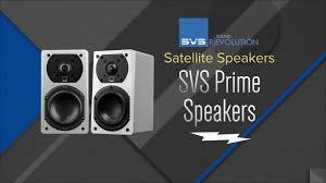 Svs Bookshelf Speakers Overview Svs Piano Gloss White Prime Satellite Speakers