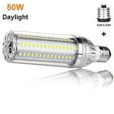 mogul base led light bulbs 50w super bright corn led light bulbs 500w equivalent e26 with