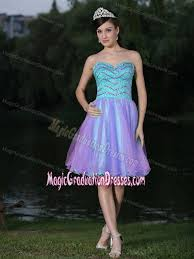 graduation dresses for high school beaded knee length graduation dresses for high school