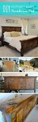 Bed Frames Diy King Bed Frame Plans Farmhouse Bed Pottery Barn by Best 25 Farmhouse Bed Ideas On Pinterest Woodworking Plan