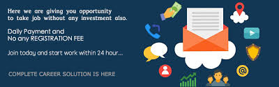 part time ad posting without registration fee work from home