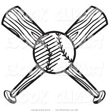 coloring page of a bat softball balks and bat drawing free download clip art free