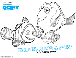 finding dory coloring and activity sheets the farm gabs