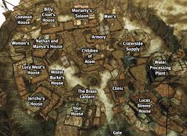 Fallout New Vegas World Map by Image Map Over Megaton Jpg Fallout Wiki Fandom Powered By Wikia