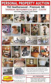 jeannette tank estate auction don peterson u0026 associates real estate