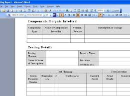 bug report template xls bug report template xls 1 professional and high quality templates