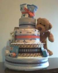 111 Best Diaper Cakes Images On Pinterest Baby Diaper Cakes