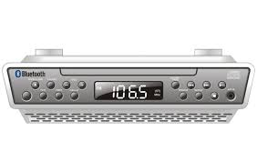 under cabinet stereo cd player ilive bluetooth under the cabinet clock cd radio cabinet designs