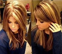 layered highlighted hair styles blunt medium straight hair styles highlight lowlights for madi