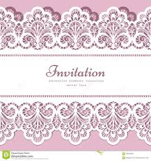 invitation card border templates virtren com