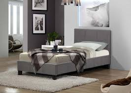 birlea berlin 3ft single fabric bed frame in grey 109 beds