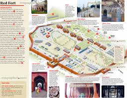 City Map Glasses Delhi Map Red Fort In Central Old Delhi City 3d Monuments Plan