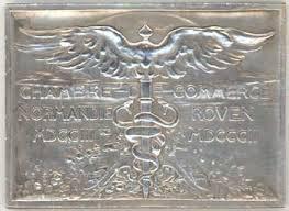 chambre du commerce rouen médaille de la chambre de commerce