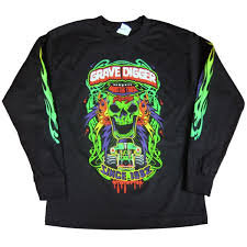 grave digger monster truck poster digger youth long sleeve poster tee