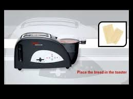 Toaster Poacher Tefal Electrical Toast U0027n Egg Black Silver 2 Slices Youtube