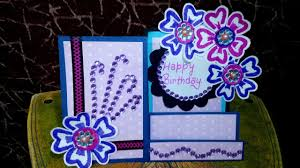 how to make birthday card side stair diy christmas cards simple