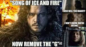 Game 7 Memes - 30 amazing memes from game of thrones season 6 the grumpy fish