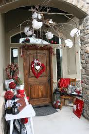 Valentine Home Decor Alluring Valentine Porch Home Decor Showcasing Impeccable Twin