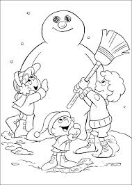 large snowman coloring page snowman coloring pages pinterest as well as coloring pages large
